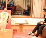Akshay Kumar discusses Ram Setu with UP CM Yogi Adityanath in Mumbai
