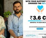 Anushka Sharma, Virat Kohli managed to generate ₹3.6 crore in a day for COVID relief