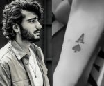 Arjun Kapoor gets inked, dedicate his new tattoo to sister Anshula