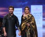 Bipasha Basu and Karan Singh Grover walked the ramp hand-in-hand at Lakme Fashion Week 2020