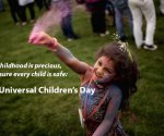 Universal Children's Day: Every Child Deserves A Good Future