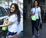 Genelia D' Souza spotted in cool and upbeat gym look