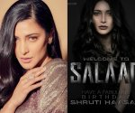 Happy birthday Shruti Haasan and welcome to team Salaar: Prabhas