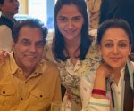 Hema Malini and Dharmendra become proud grandparents again, daughter Ahana Deol welcomes twin baby girls