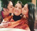 Kajol and Tanishaa celebrate mom Tanuja's 78th birthday in style