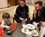 Kareena Kapoor Khan and Saif Ali Khan enjoy Taimur's culinary session in Dharamshala