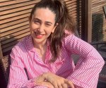 Karisma Kapoor is 'still in her pj's' but shares a smile and hope for her fans