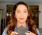 Madhuri Dixit Nene helps with COVID-19 essentials at home