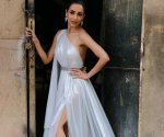 Malaika Arora looks drop-dead gorgeous in a backless white gown