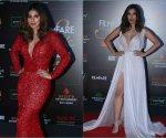 Pics: Mouni Roy & Daisy slay in red, Anushka Sharma & Karan Johar glowed in royal elegance at the Filmfare Glamour and Style Awards 2019