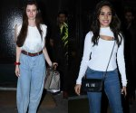 Nushrat Bharucha and Giorgia Andriani show you how to style and ace jeans
