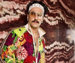 Ranveer Singh adds a splash of colour with his eccentric outfit choice