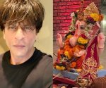 Shah Rukh Khan sends warm wishes as Ganesh Chaturthi festivities at his home comes to an end