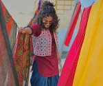 Taapsee Pannu spills some colours from Rashmi Rocket sets in Bhuj
