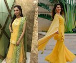Dress up like Tamannaah Bhatia on Vasant Panchami 2020 and be the diva of the day