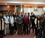 Varun Dhawan, Kriti Sanon and others of Bhediya team meet Arunachal CM