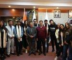 Varun Dhawan, Kriti Sanon and others of Bhediya team meet Arunachal CM