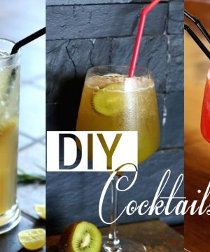10 splendid DIY Cocktail