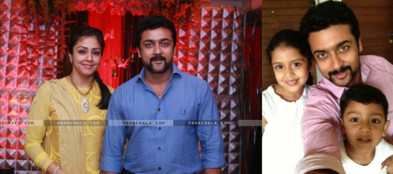 Baby Name:Dev, Diya|Parents: Suriya and Jyothika
