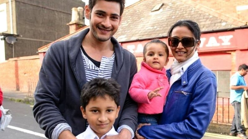Baby Name:Gautham,Sitara |Parents:Mahesh Babu and Namrata Shirodkar