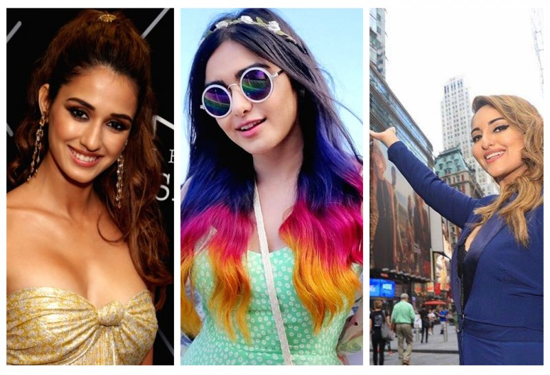 Celebrities hair colors and hair styles