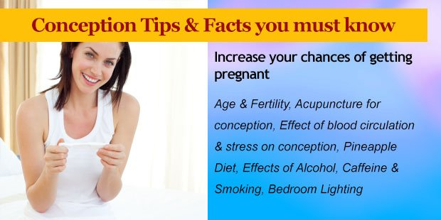 Tips to increase your chance of getting pregnant