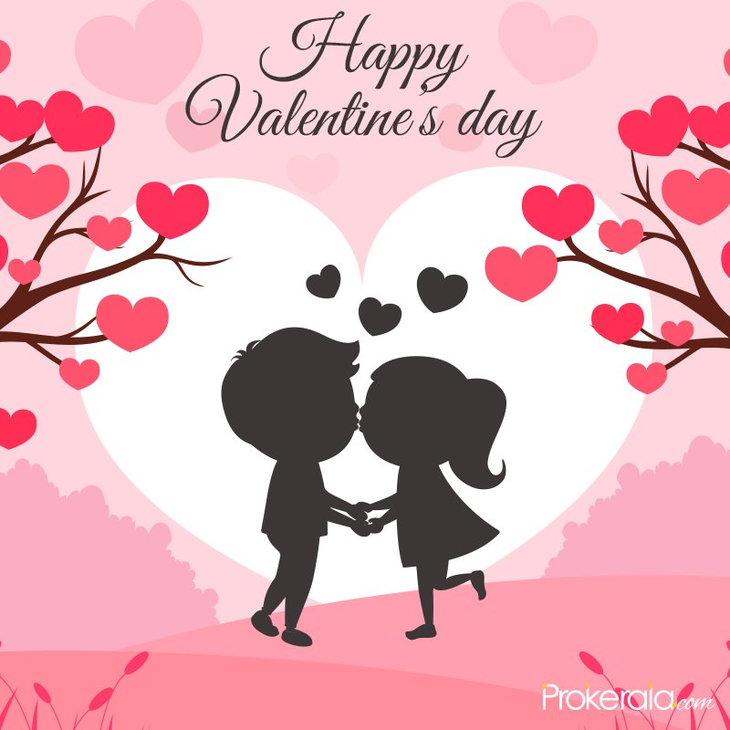 Couple love cute images for V- Day