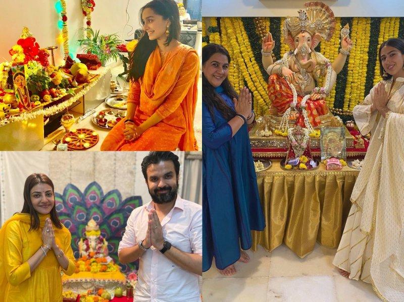 Ganesh Chaturthi: Inside Sara Ali Khan, Shraddha Kapoor, Kajal Aggarwal's festivities
