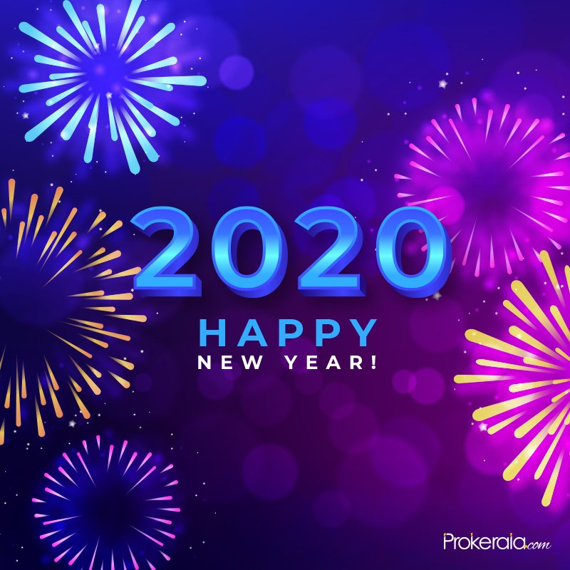 2020 Happy New Year wishes to send ahead via Whatsapp and ...