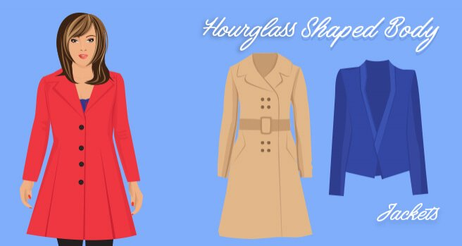 jackets for hourglass shaped body
