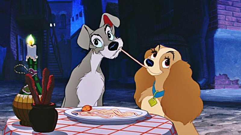 8. LADY AND THE TRAMP (1955)