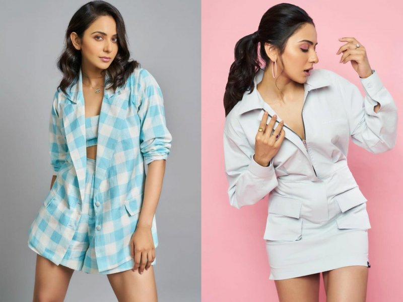 Rakul Preet Singh opts for cool, chic dresses, something you need this summer
