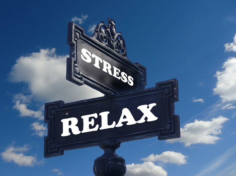 Relax and cure stress