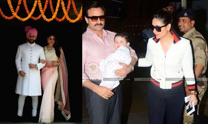 Baby Name:Taimur | Parents: Saif Ali Khan and Kareena Kapoor