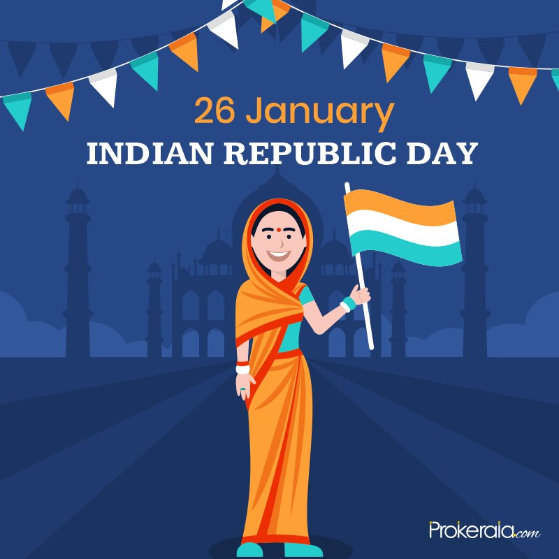 Share Republic Day messages on Whatsapp