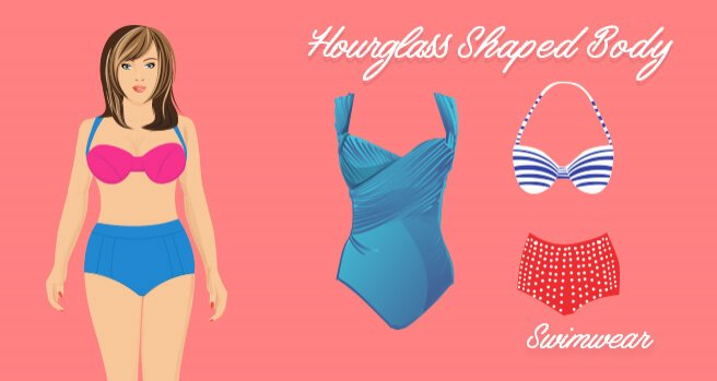 swimwear for hourglass shaped body