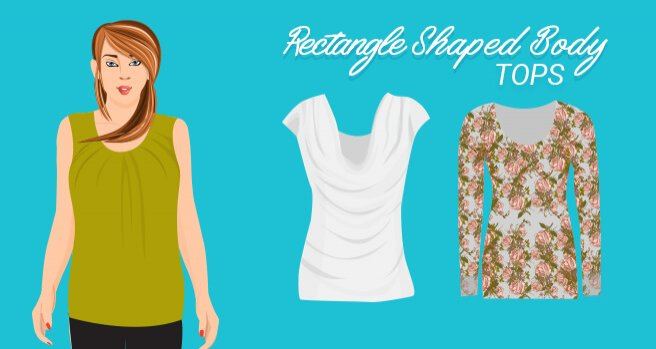 tops for rectangle shaped body