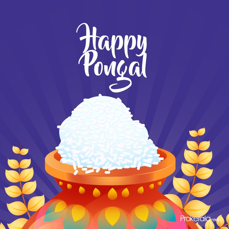 Wishing all a blessed Pongal