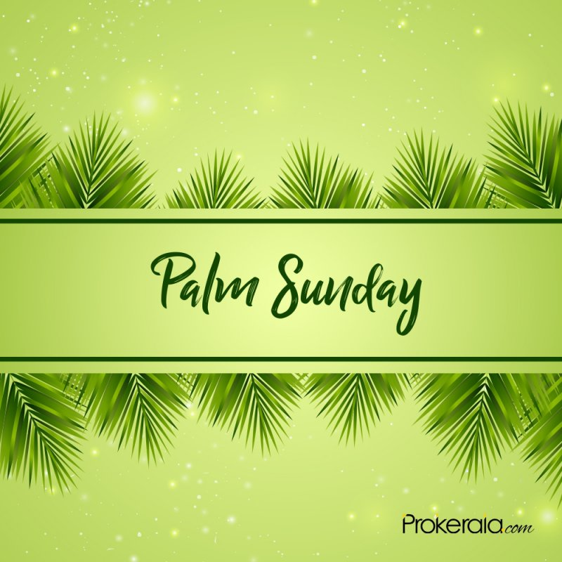 Greetings for Palm Sunday