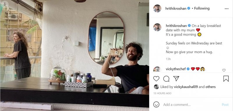 Hrithik Roshan's fans are amused to see damped wall in his house, actor reacts