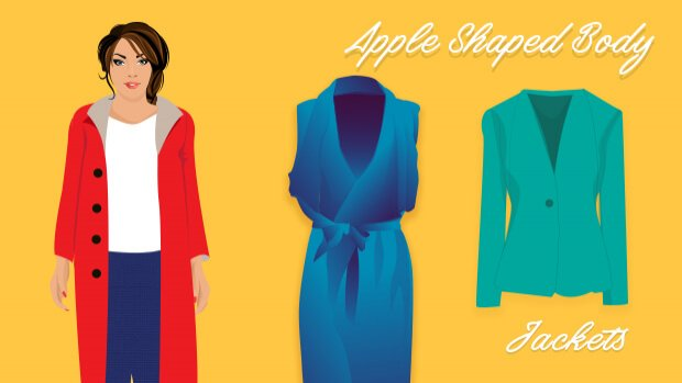 Jackets for Apple Body Shape