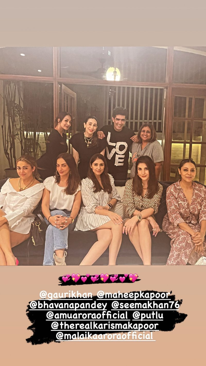 Manish Malhotra hosts a party
