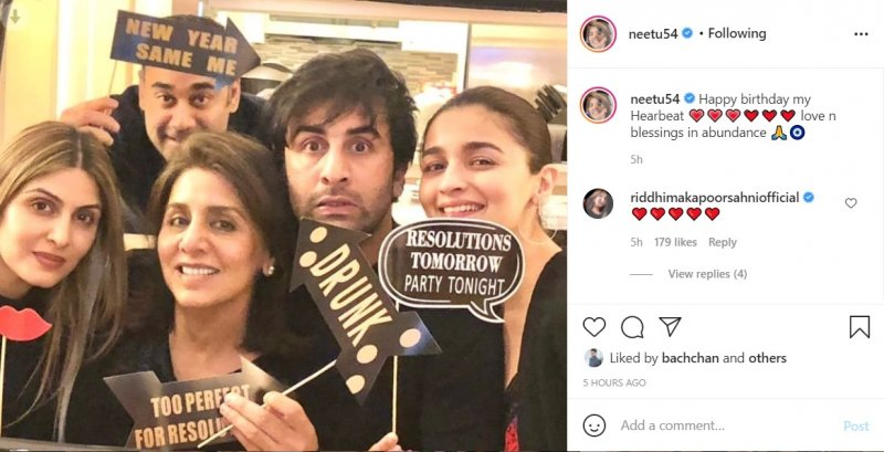 Neetu Kapoor shared a picture