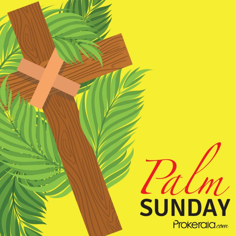 Palm Sunday and Holy Week celebrations
