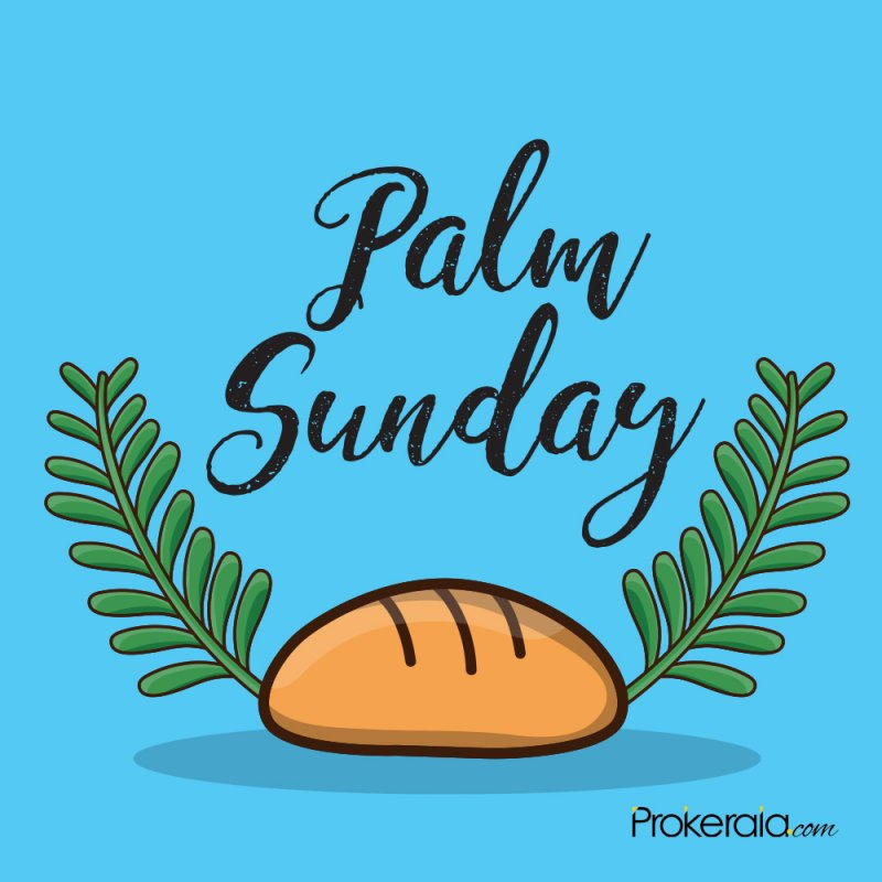 Palm Sunday posts for facebook