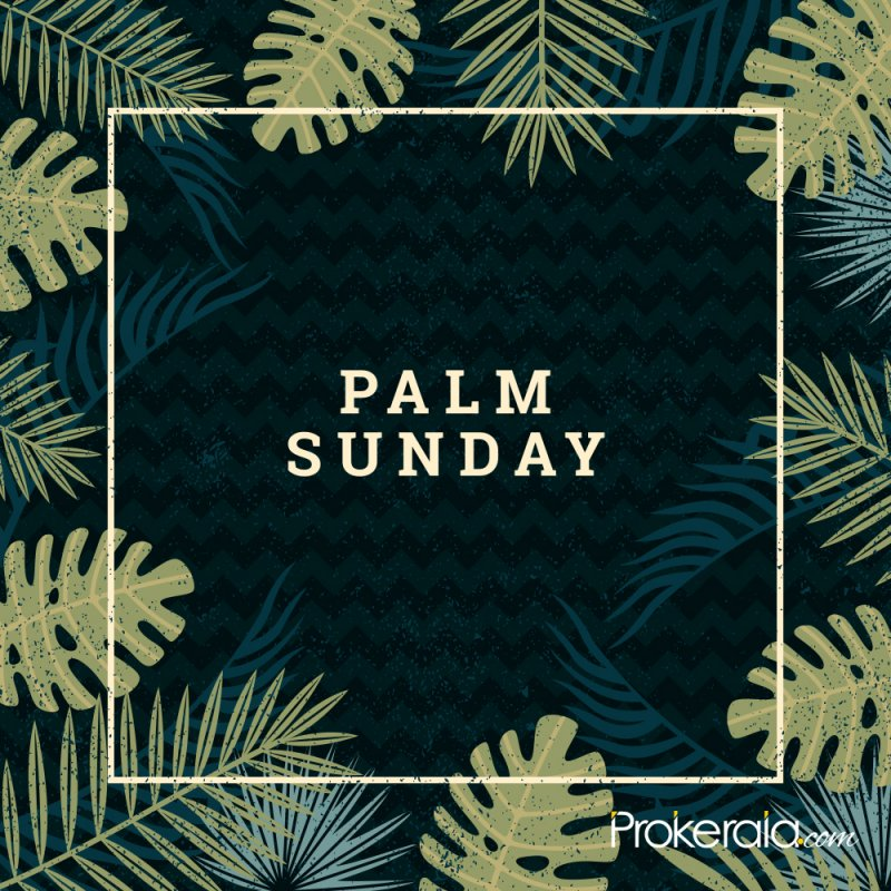 Palm Sunday stickers for whatsapp