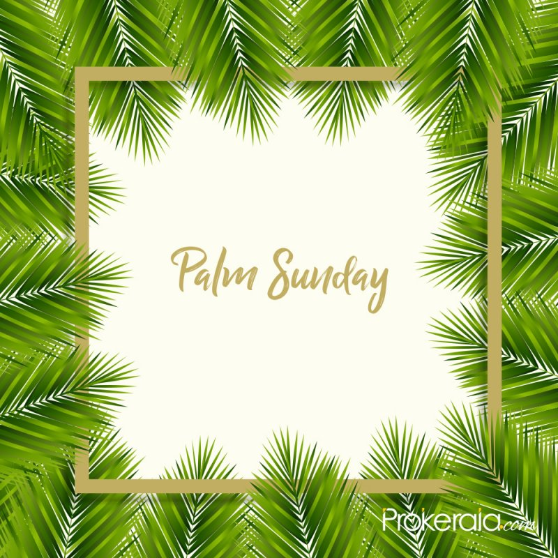 Palm Sunday wishes to share
