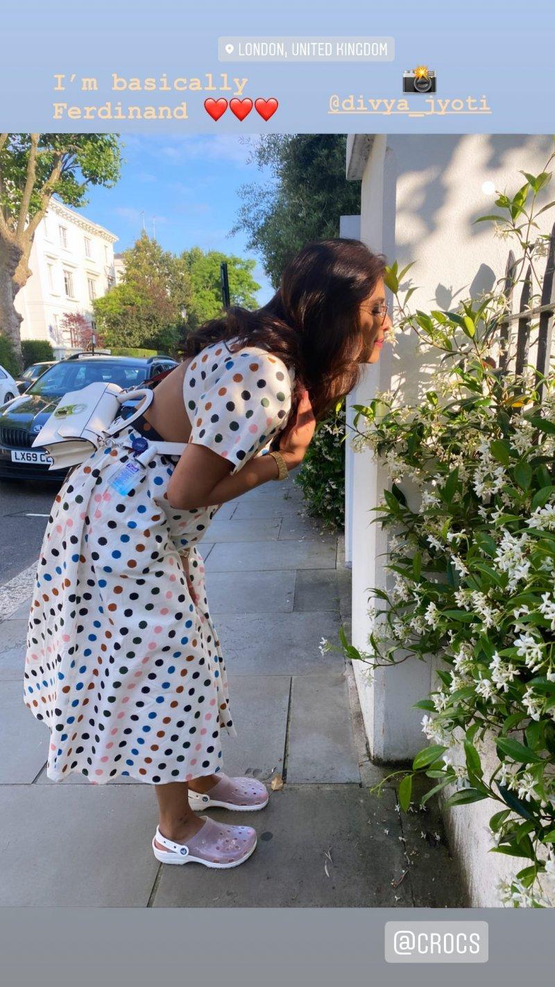 Priyanka Chopra's summer look in London