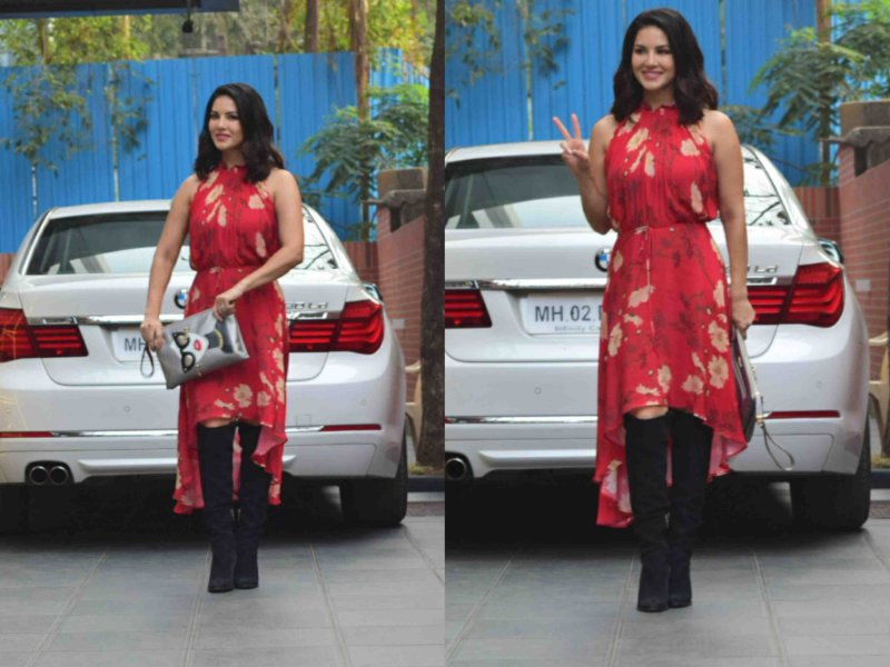 Sunny Leone goes chic