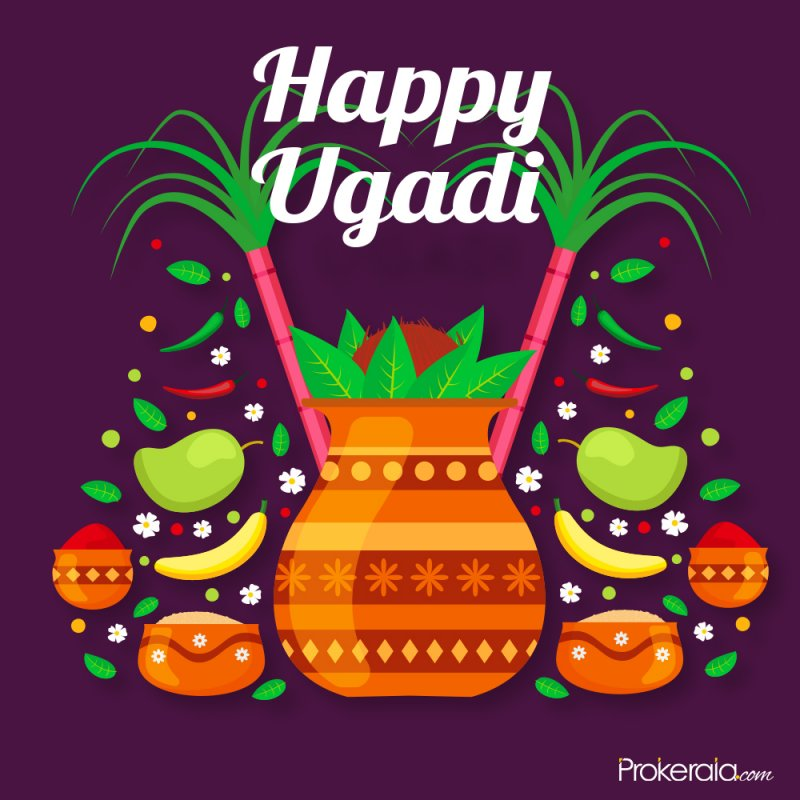 Ugadi Stickers for WhatsApp to share freee